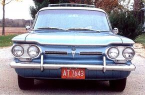 The 1962 Monza station wagon wasn't considered as attractive as the other Chevy Monzas during this time. See more classic car pictures.