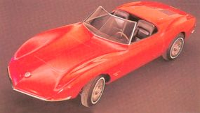 Both Monza concept cars mounted fiberglass bodies on a modified Corvair chassis and were strictly experiments.