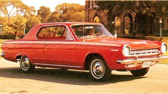 1963, 1964, 1965, 1966 Dodge Dart GT