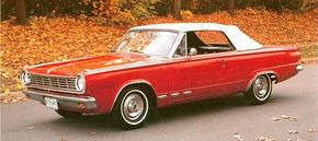 Though only six-cylinder engines were offered in 1963, the 1964 Dodge Dart GT could be ordered with a 180 bhp 273-cid V-8.