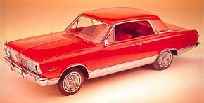 Though the 1963 Valiant Signet was built on the same 106-inch wheelbase as the 1962 model, it carried new, boxier styling. Little changed cosmetically for 1964.