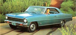 Chevrolet developed the Chevy II Nova SS to compete with the Falcon and Valiant compacts. See more classic car pictures.