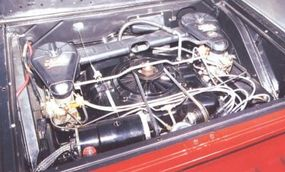 The 95 Pickup's engine was made of a lot of aluminum to keep weight down, but handling was still an issue.