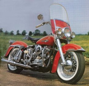 The 1963 Harley-Davidson FL Duo-Glide followed the successful formula of previous FL models. See more motorcycle pictures.