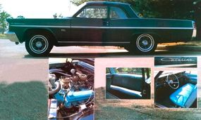 The 1963 Catalina had a 421 H.O. street engine that was powerful enough for any racetrack.
