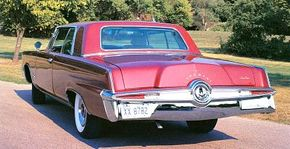 The 1964 Imperial sold over 23,000 units, 65 percent better than sales in 1963.