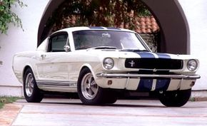 The original '65 Shelby GT-350 was probably as close to a street-legal racing car as was ever offered by an American company.