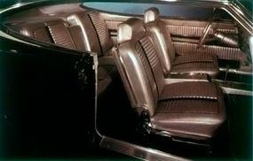 The Black Marlin had a sleek and stylish interior.
