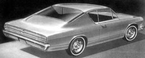 AMC designers originally created the Tarpon, a neat little fastback based on the all-new 1964 Rambler American, but it was replaced by the Marlin.