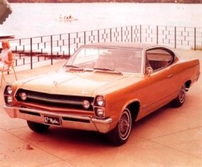 Although the 1967 Marlin was generally considered the best looking of the lot, it sold in the smallest numbers.