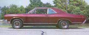 Demand for the 1966 Buick Gran Sport coupe slipped below the 2,000 car mark.