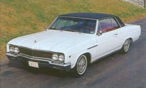 The 1965 Gran Sport could be dressed up with accessories like a vinyl top and wire wheel covers.