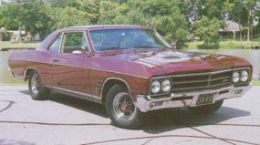 The new body made the 1966 Buick Gran Sport look a bit like a baby Wildcat.