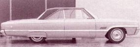 This prestige car became the 1966 Dodge Monaco 500.