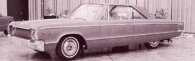 Another circa January 1963 big Dodge concept option.