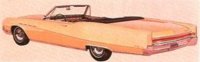 The 1965 Electra 225 continued with the clean, angular lines of the previous generation, though styling was updated with a slight hump over the rear wheels. The 1966s were very similar. See more classic car pictures.