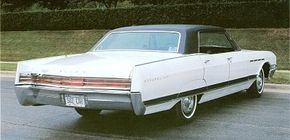 For 1967, the Electra's rear wheel hump was exaggerated and joined by a sweeping creaseline, a design that was carried over for 1968.