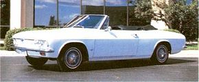 The restyled 1965 Chevrolet Corvair, renamed Corsa, looked good and handled well, too. See more classic car pictures.