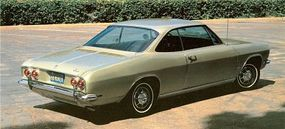 By the end of 1968, the Monza coupe had but 6,807 sales, and Corvair would be dropped a year later.