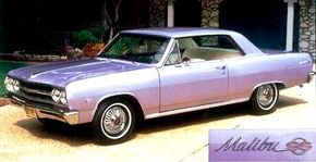 Mike Kuhn spent 2 years restoring his 1965 Chevrolet Chevelle. See more classic car pictures.