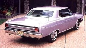 Evening Orchid was one of 15 colors available for the 1965 Chevelle.