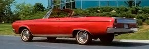 The 1965 Dodge Coronet 500 Convertible was just one of many convertible choices in the 1960s. See more classic car pictures.