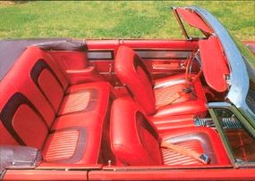 Finding the correct interior components was the biggest difficulties to restoring this 1965 Dodge Coronet 500 Convertible.