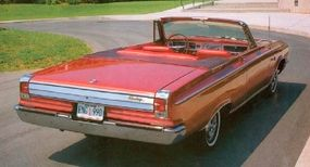 The 1965 Dodge Coronet 500 Convertible cost just $2894.
