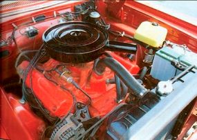 The 1965 Dodge Coronet 500 Convertible's