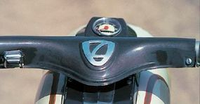 The front suspension used an Earles-type fork.