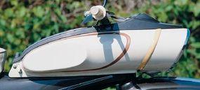 The headlight nacelle was DKW's idea of aero styling.