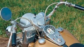 The rider's view of the Electra-Glide
