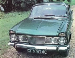 Humber imported only a handful of cars to the United States.