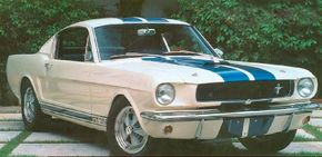 The 1965 Shelby GT 350 did double duty as a road car and a racer. See more classic car pictures.