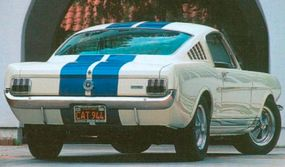 The 1965 Shelby GT 350 was reasonably priced for its power at $4,547.