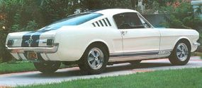 The 1965 Shelby GT 350 dominated its class in SCCA contests.