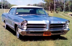 The 1965 Pontiac Catalina 2 + 2 convertible was introduced to coincide with the release of the popular GTO. See more classic car pictures.