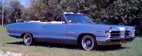 The Catalina's higher price tag made it less popular with car-buyers than the GTO.