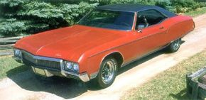 """Though the 1970 Buicks were hyped as """"Something to believe in,"""" the Buick Riviera was the most controversial of the 1966-1970 series."""