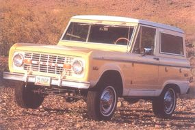 An increase in ride height left drivers of 1975 Ford Broncos riding a little taller in the saddle.