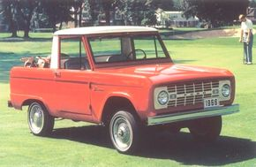 The Ford Bronco was introduced in several body variations for 1966.
