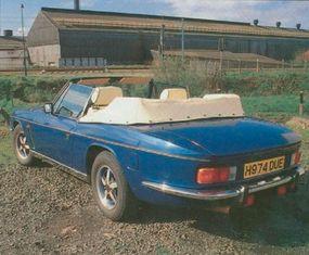 The 1991 Jensen Interceptor Mark IV was a testament to the lightness of the original Mark I design.