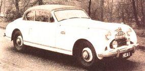 Early Jensen Interceptors were powered by a 3,993-cc Austin six that developed 130 horsepower.