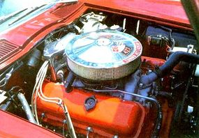 The Corvette Sting Ray was famous for its powerful engines.