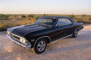 Chevy sold more than 72,000 Chevelle SS 396s in 1966. See more muscle car pictures.