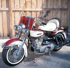 The 1966 Harley-Davidson FLH Electra-Glide featured 60 horsepower.