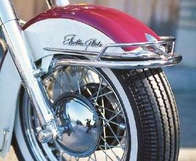 """""""Electra-Glide"""" referred to the electric-start system."""
