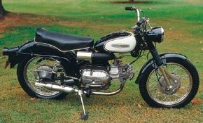 Both street and on/off-road Scrambler models enjoyed a fair amount of competition success.