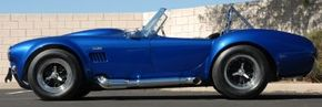 """Carroll Shelby says this of the 1966 Shelby Cobra 427 Super Snake that he created: """"I wanted it to be the fastest, meanest car on the road."""""""