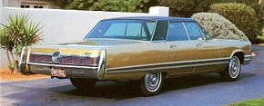 The 1967 and 1968 Imperial didn't stand up too well to critic's road tests.